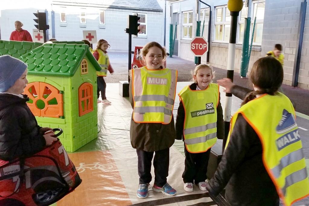 Road Safety Week Model School Ireland