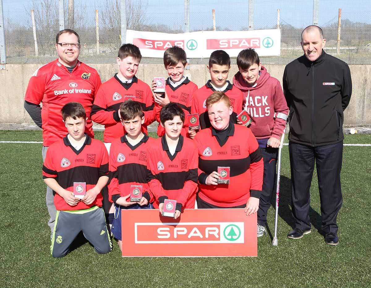 Comórtas  Sacair Spar FAI/ Spar FAI Schools 5-a-side Soccer Tournment
