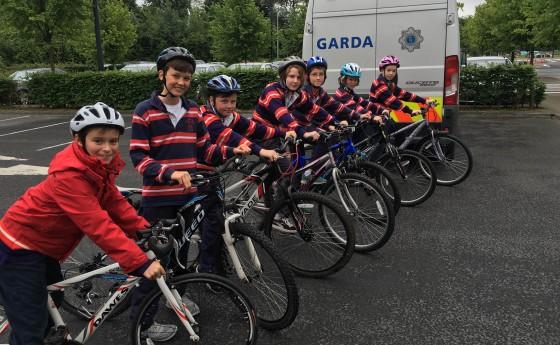 Comórtas Rothaíochta na nGardaí i UL/ Garda Cycling Competition in UL